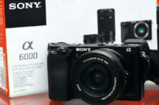 Kamera SONY alpha a6000 (body only)