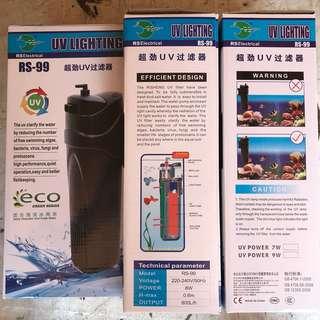 Rs 99 internal Uv Filter 9w 800L/H