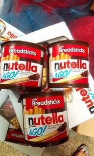Nutella Go 3pcs for 130.00
