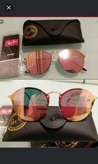 💖SALE💖Rayban RB 3574 BLAZE Pink lens