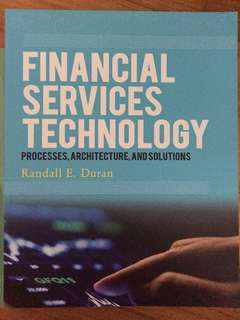IS4228 Financial services technology