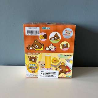 Re-Ment Rilakkuma Yururi Desk [Sealed Complete Set]