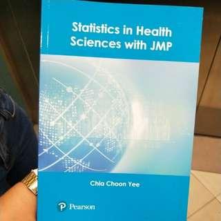 statistics in health sciences jmp