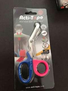 Acti-Tape Scissors (Coloured Handle) Specialized designed Scissors for cutting Acti-Tape