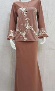 Set mini kurung floral