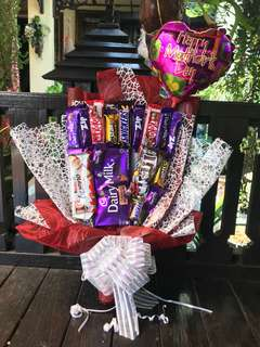 Chocolate Bouquet beratur for Mother's Day