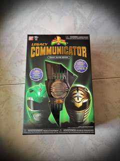 MMPR Communicator LIMITED EDITION TOMMY OLIVER EDITION