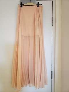 forever new pleated skirt