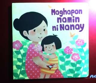 Childrens book: Maghapon namin ni Nanay