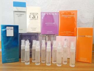 Authentic US Perfume Testers