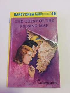 """Nancy Drew """"The Quest of the Missing Map"""""""