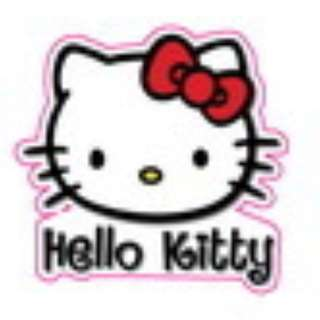 Hello Kitty B Sticker Gloss Waterproof