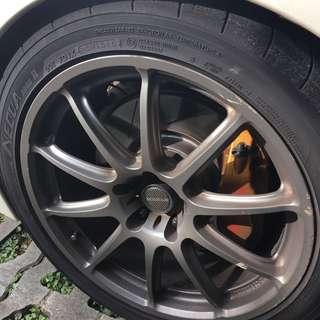 """Yokohama Advan AD08R  245/40 18"""" tyres"""