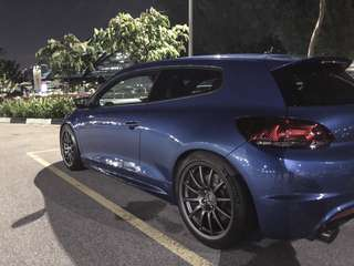 Vw scirocco/golf kw v2 suspension