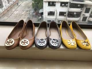 TORY BURCH flats 3 pairs  35碼