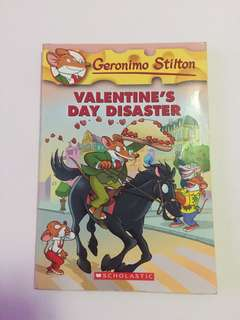 "Geronimo Stilton ""Valentine's Day Disaster"