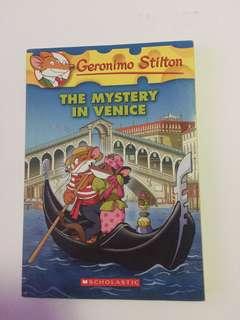 "Geronimo Stilton ""The Mystery in Venice"""