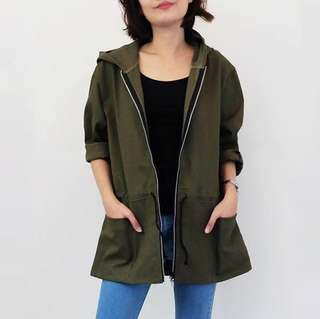 Parka Jacket (Green)
