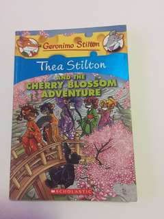 "Thea Stilton ""The Cherry Blossom Adventure"""