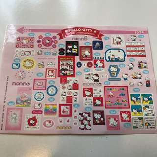 Hello kitty sticker (limited edition)