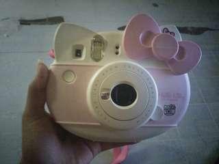 Kamera polaroid hello kitty