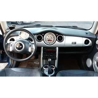 2002年 MINI Cooper S雙門 藍 FB搜尋:耀揚車庫 進口車 二手車 中古車 外匯車