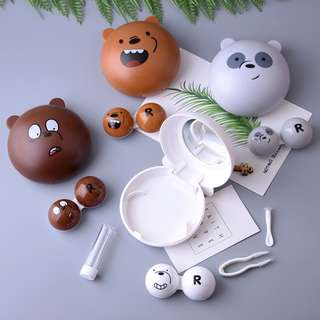 We Bare Bears Contact Lens Casings ( D1 )