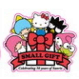 Hello Kitty Sanrio Friends Sticker Gloss Waterproof