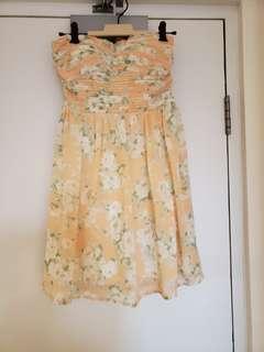 dotti floral dress sz 8