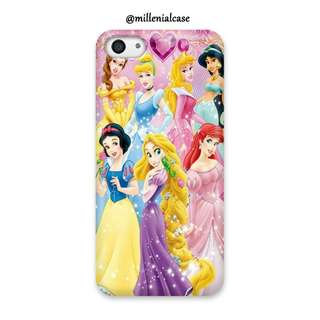 Premium princess disney hard/softcase(bs custom design)