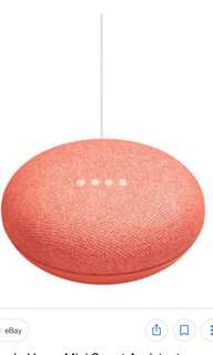 BUYING (NOT SELLING)Google Home Mini