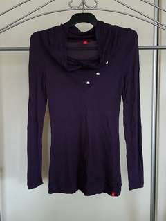 EDC by Esprit Long Sleeve Top - Size S