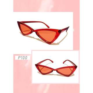 Retro sunnies (red)