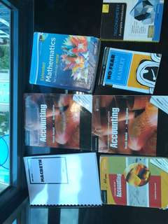 IGCSE MATHS AND ACCOUNTING BOOKS