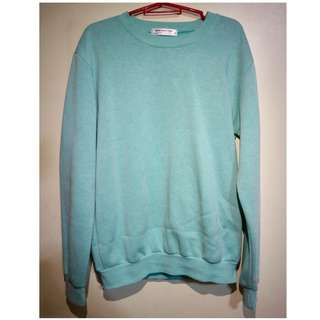 Teal sweater from Taiwan