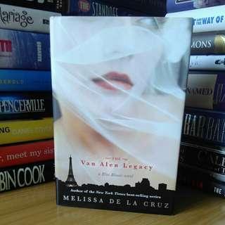 the van alen legacy - melissa de la cruz (hardcover =