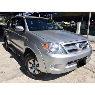 2006 Toyota Hilux 2.5 (M) D-4D ENGINE 4X4 TIP TOP
