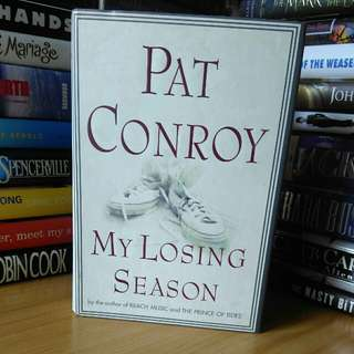 my losing season pat conroy (hardcover)