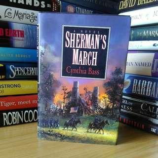 shermans march - cynthia basi (hardcover)