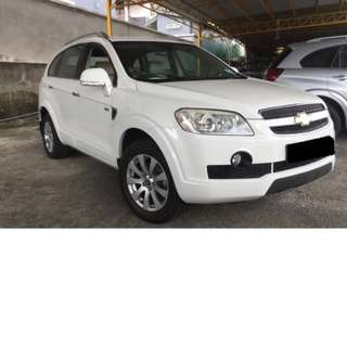 Chevrolet Captiva Diesel 2.0A VCDi for rent