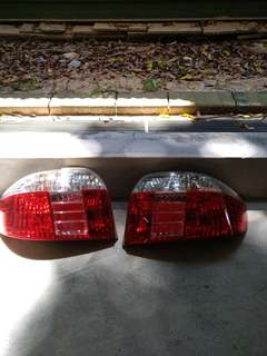 Toyota vios tail light right side 2005 to 2007