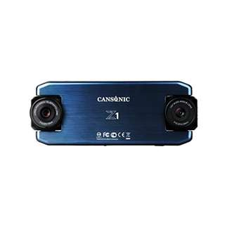 Cansonic UltraDuo Z1 Dual Lens Dash Cam Car Camera Dashboard