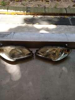 Toyota vios head light 2005 to 2007 headlight