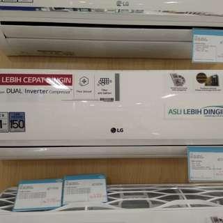 Ac LG SPLIT 1/2 pk bisa kredit tanpa kartu kredit