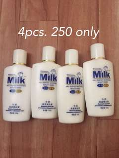 instant whitening lotion