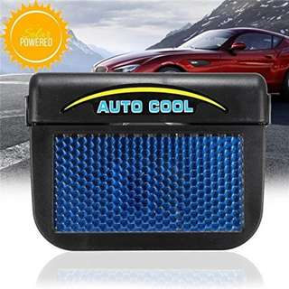 Solar Powered Car Window Windshield Auto Air Vent Cooling Cool Fan Auto Ventilator Cooler System