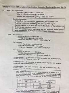 Raffles Institution H2 Chemistry 2016 Year 5 Promo Exam Paper