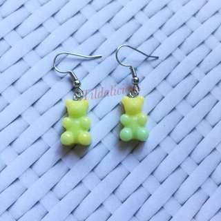 Gummy bears handmade earring