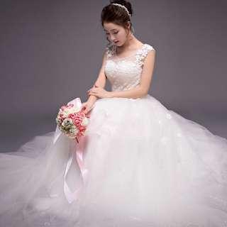 Vintage Lace Wedding Dress 2018 Bridal Gown Wedding Dress