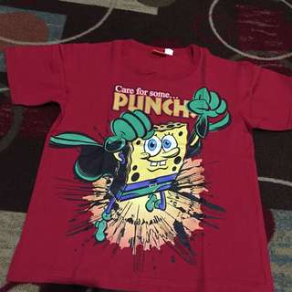 Spongebod shirt